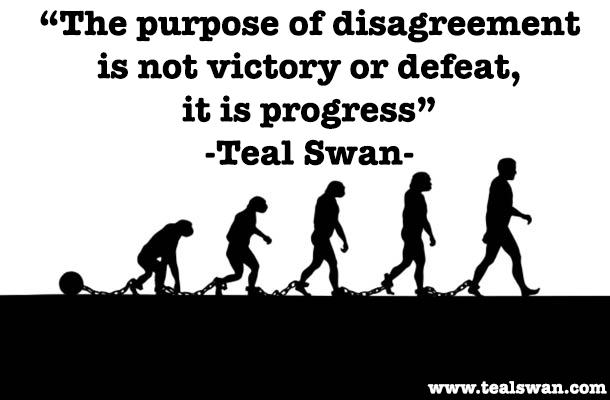 disagreement leads to progress essay