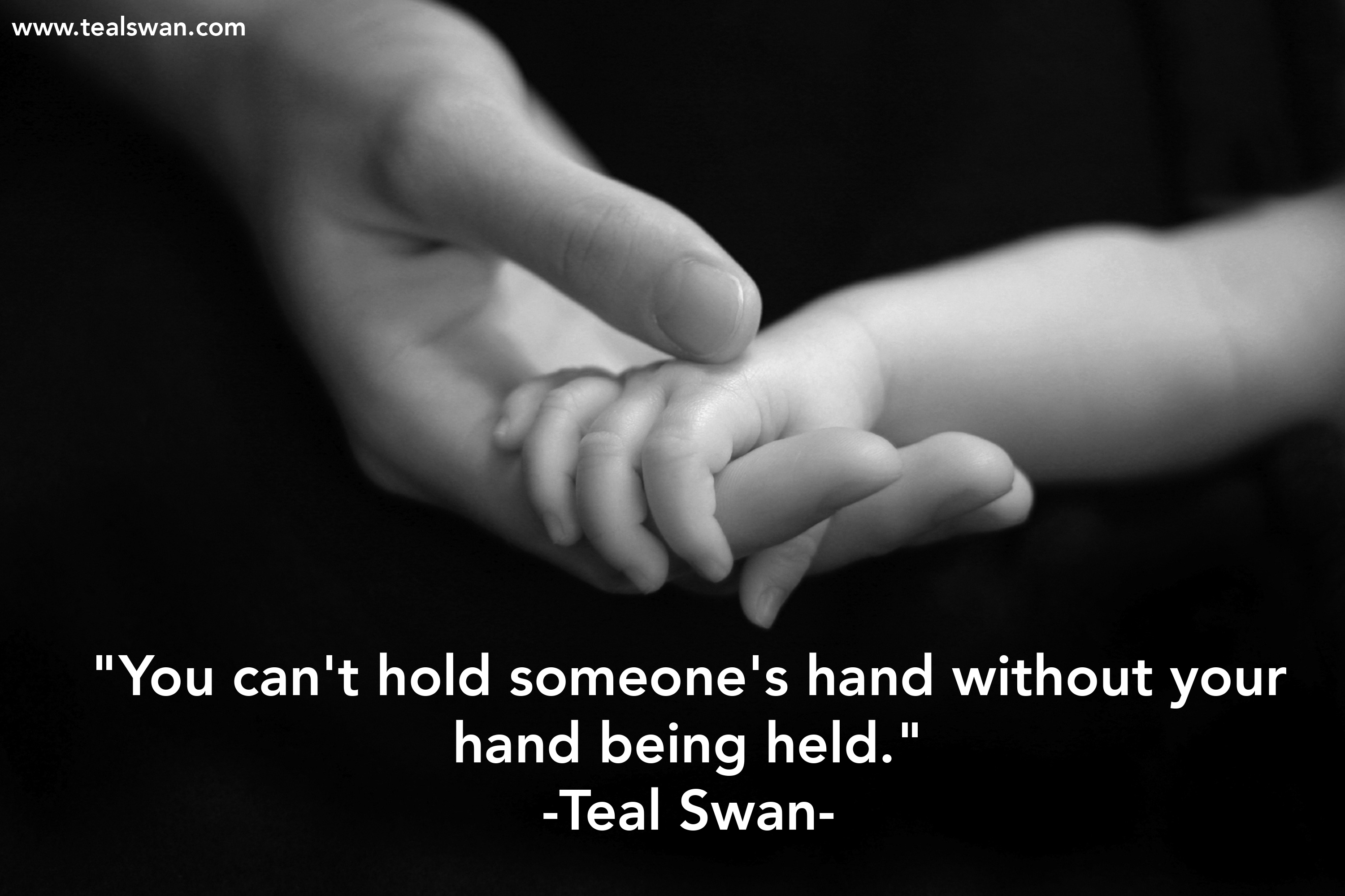 mother and child holding hands quotes relationship