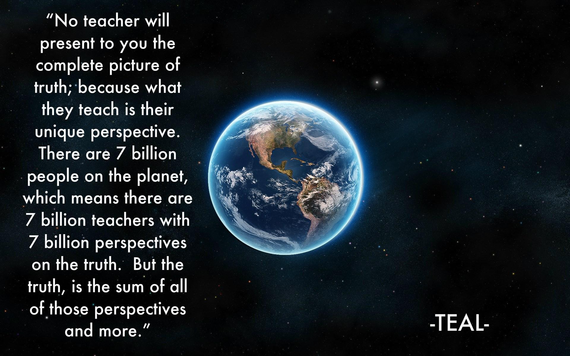 Teacher Quotes: Teacher Quote
