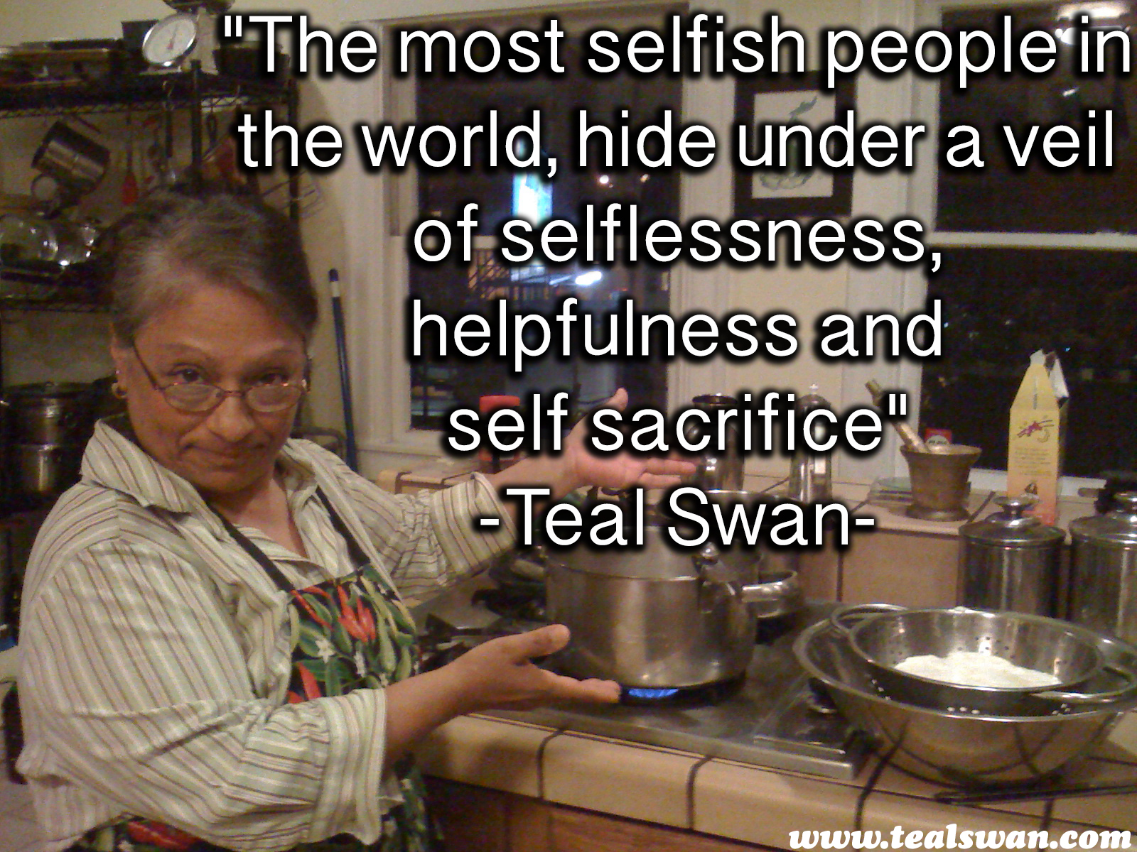 Quotes About Inconsiderate People: Selfishness Quote